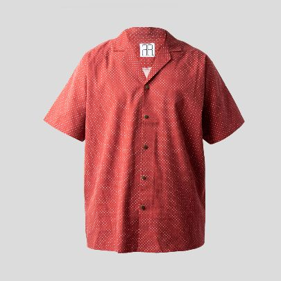 Picture of Dotted red shirt