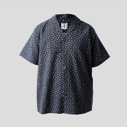 Picture of Leaf blue shirt