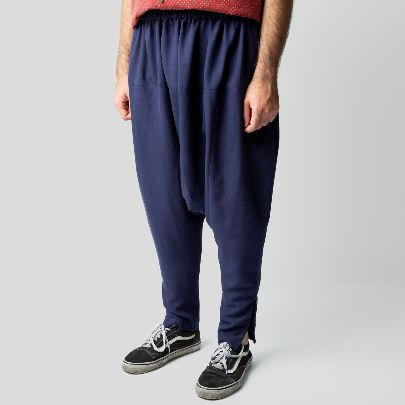 Picture of Blue loose pants