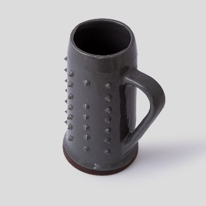 Picture of Grey sparked mug