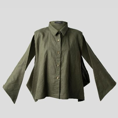 Picture of Loose sleeve blouse