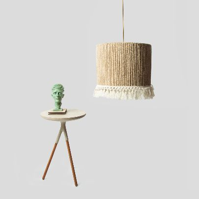 Picture of Hemp cylindrical chandelier