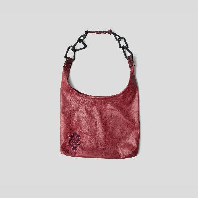 Picture of Pink leather bag