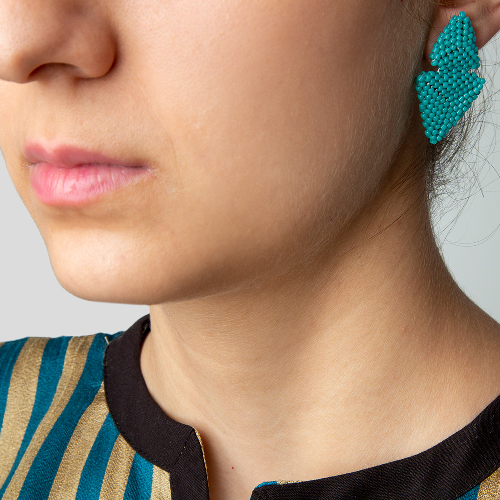 Picture of akoo blue earrings