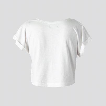 تصویر آستین کوتاه سفید