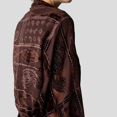 Picture of Brown miny pancho