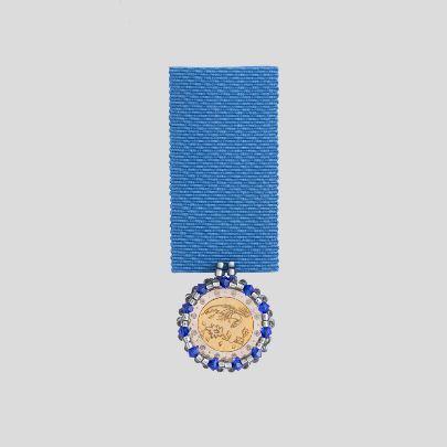 تصویر مدال آبی سیمرغ
