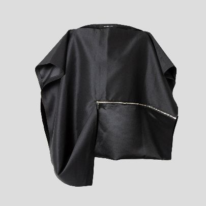 Picture of Black blouse with zipper