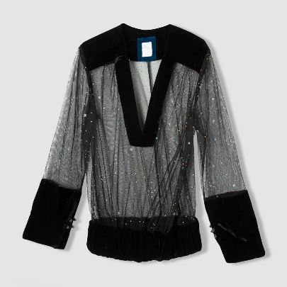 Picture of long sleeves blouse