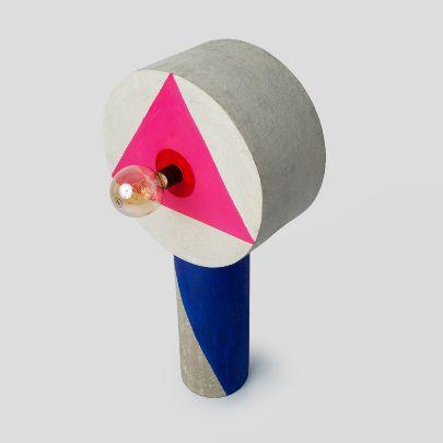 تصویر چراغ  لالی پاپ مثلث
