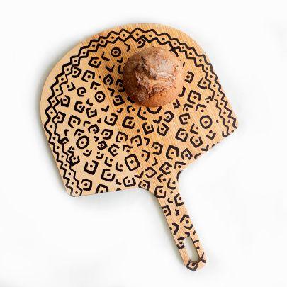 تصویر تخته سرو نقطهای قارچی